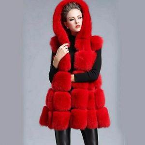 Jackets & Blazers - Fur Hood Natural Fox Fur